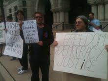 Milwaukee activists protests FBI