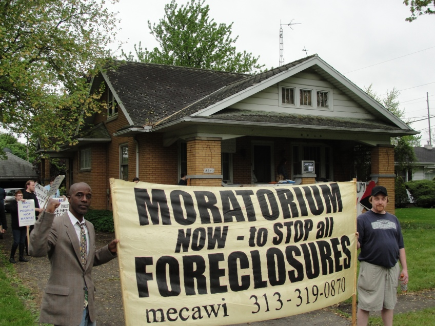 Moratorium NOW!