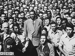 Mr. Paul Robeson speaking in Oakland, CA 1942