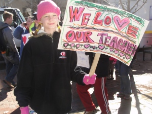 Feb. 18, 2011 at the state capitol in Madison, WI.