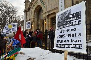 Jan. 16, 2012 Dr. King day Milwaukee.