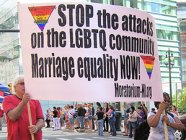 MECAWI and Moratorium NOW! march proudly in Detroit's Pride Parade June 3.