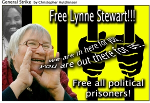 Lynne-Stewart-poster-General-Strike-111909-by-Christopher-Hutchinson