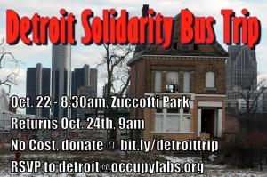 Detroit Solidarity Bus Trip