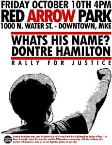 Oct._10_Dontre_Hamilton_Milwaukee_Protest