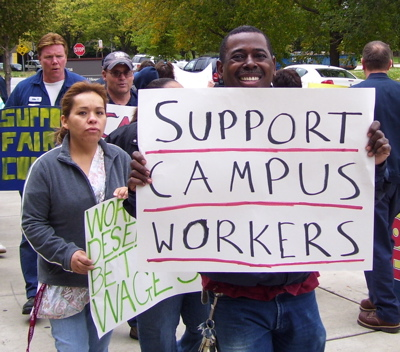support workers sign