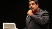 Venezuelan President Nicolas Maduro speaks at a public event in Caracas Feb. 12, 2015. A coup plot against the Venezuelan president was thwarted that day. | Photo: AVN