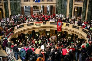 Feb. 28, 2015 state capitol in Madison [http://jennapope.com/]