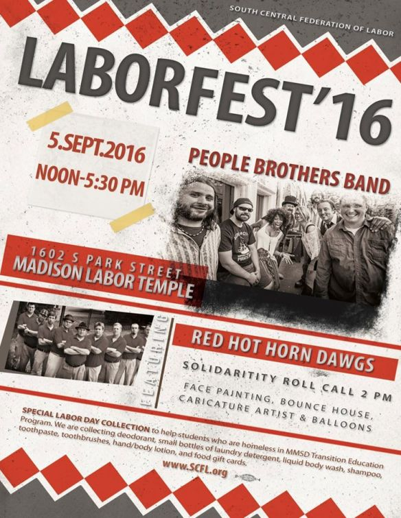 Laborfest 16 Madison