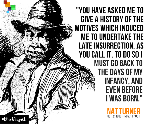 Nat Turner Black August
