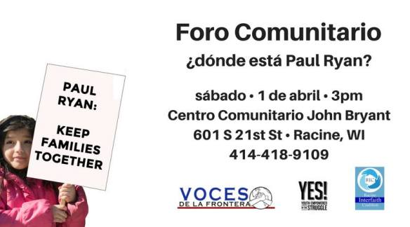 April 1 2017 Voces YES Racine