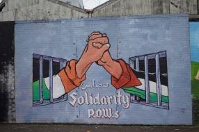 Palestine Irish POWS Mural