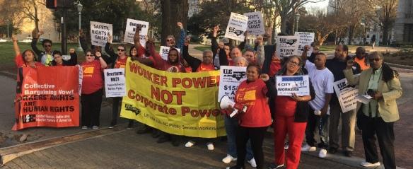 North Carolina Worker Power June 2017