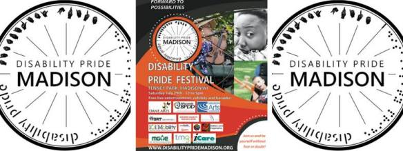 Disability Pride Madison July 29 2017