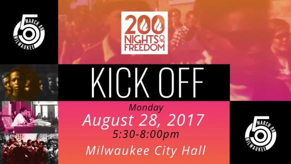 200 Nights Milwaukee August 28 2017