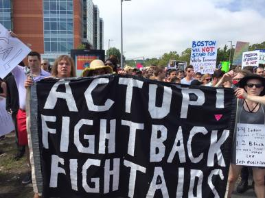 Act Up Boston August 19 2017