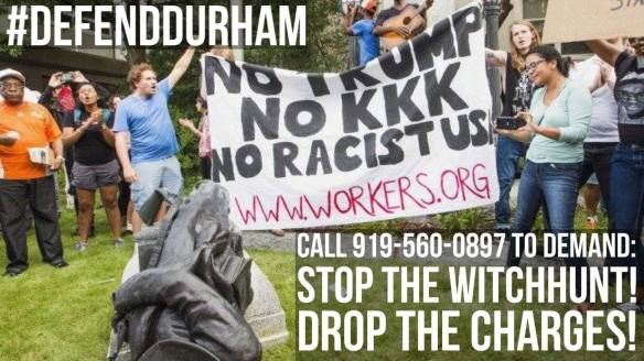 August 30 2017 Durham Call In Day