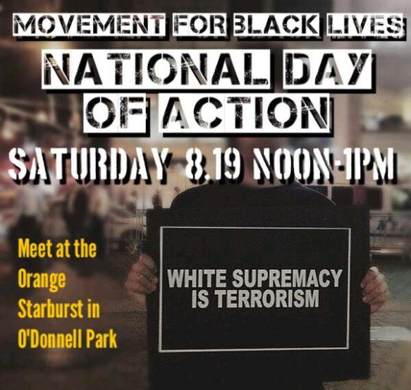 BLM Natonal Day Of Action August 19 2017 Milwaukee