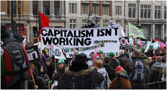 Capitalism Isn't Working Banner