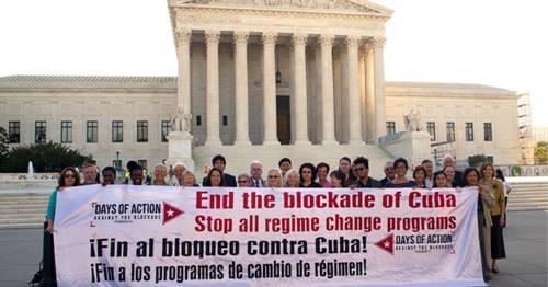 End Blockade Of Cuba DC Sept 2017