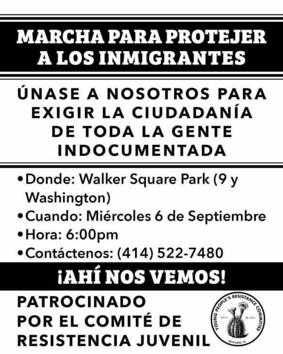 DACA Milwaukee YPRC September 6 2017