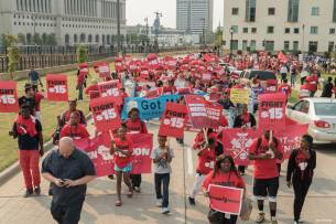 Fight For 15 Milwaukee Labor Day September 4 2017