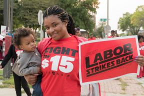 Milwaukee Fight For 15 Labor Day September 4 2017