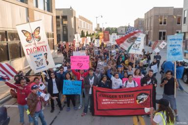 Racine WI September 5 2017 DACA Protest