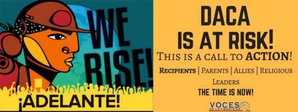 Voces We Rise Graphic
