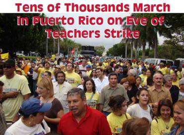 PR Teachers Strike