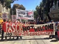 Smash Fascism banner