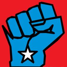 WI Blue Fist
