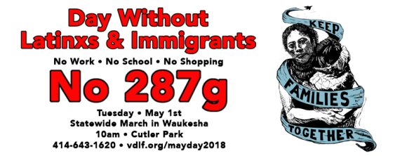 May Day Waukesha Wisconsin 2018 Header Photo