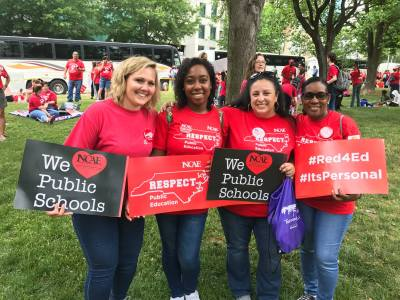 Teachers Raleigh NC May 16 2018