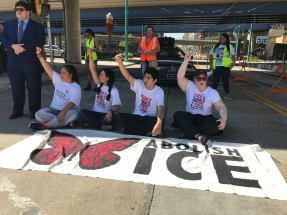 Milwaukee June 28 2018 Abolish ICE