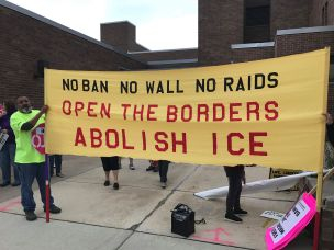 Racine August 21 2018 Abolish ICE