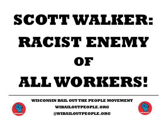 Scott Walker Racist Enemy December 8 2018