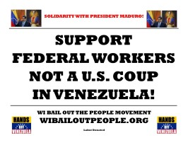 federal workers not u.s. coup venezuela 1 24 19