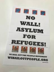 no ban no wally asylum photo placard 1 10 19