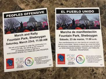 Sheboygan March 23 2019 Bi Lingual Flyers