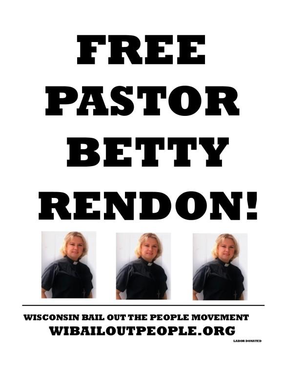 FREE PASTOR BETTY RENDON MAY 15 2019