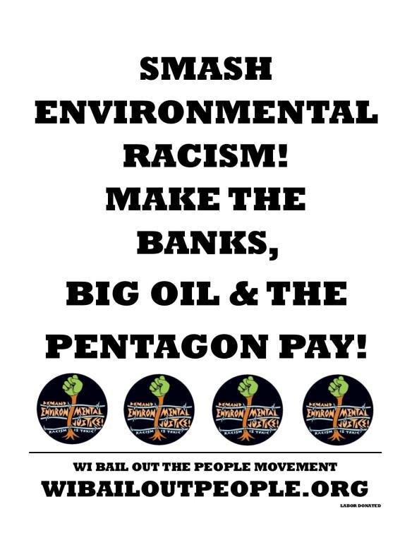 Smash Environmental Racism Placard 5 20 2019
