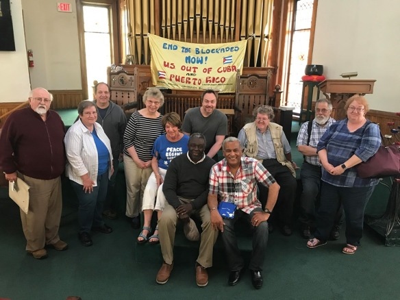 Fr Luis Barrios Friends Racine June 13 2019