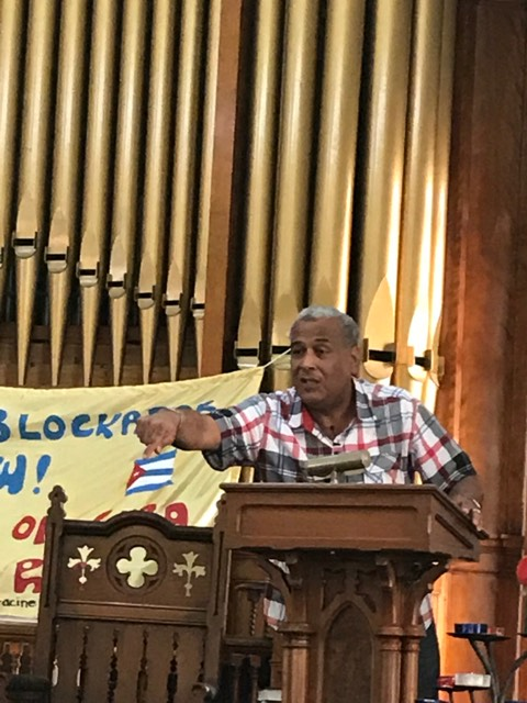 Fr Luis Barrios Speaking Racine June 13 2019