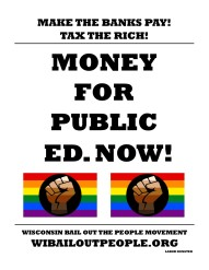 Public Ed Make The Banks Pay June 25 2019