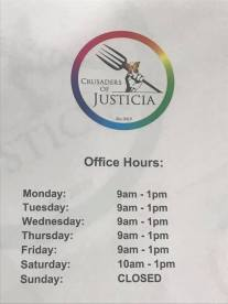 Crusaders Of Justicia Office Hours