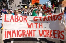 Labor Immigrant Workers Banner