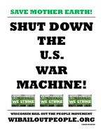 SAVE MOTHER EARTH SHUT DOWN U.S. WAR MACHINE 9 6 2019