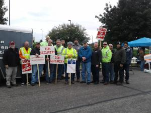 UAW Picket Line - 10-4-19 - 4 of 5 - Building Trades Support
