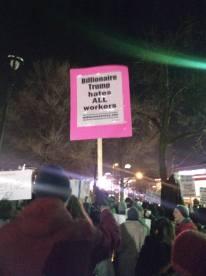 Trump Protest Milwaukee 1 14 2020 Billionaire